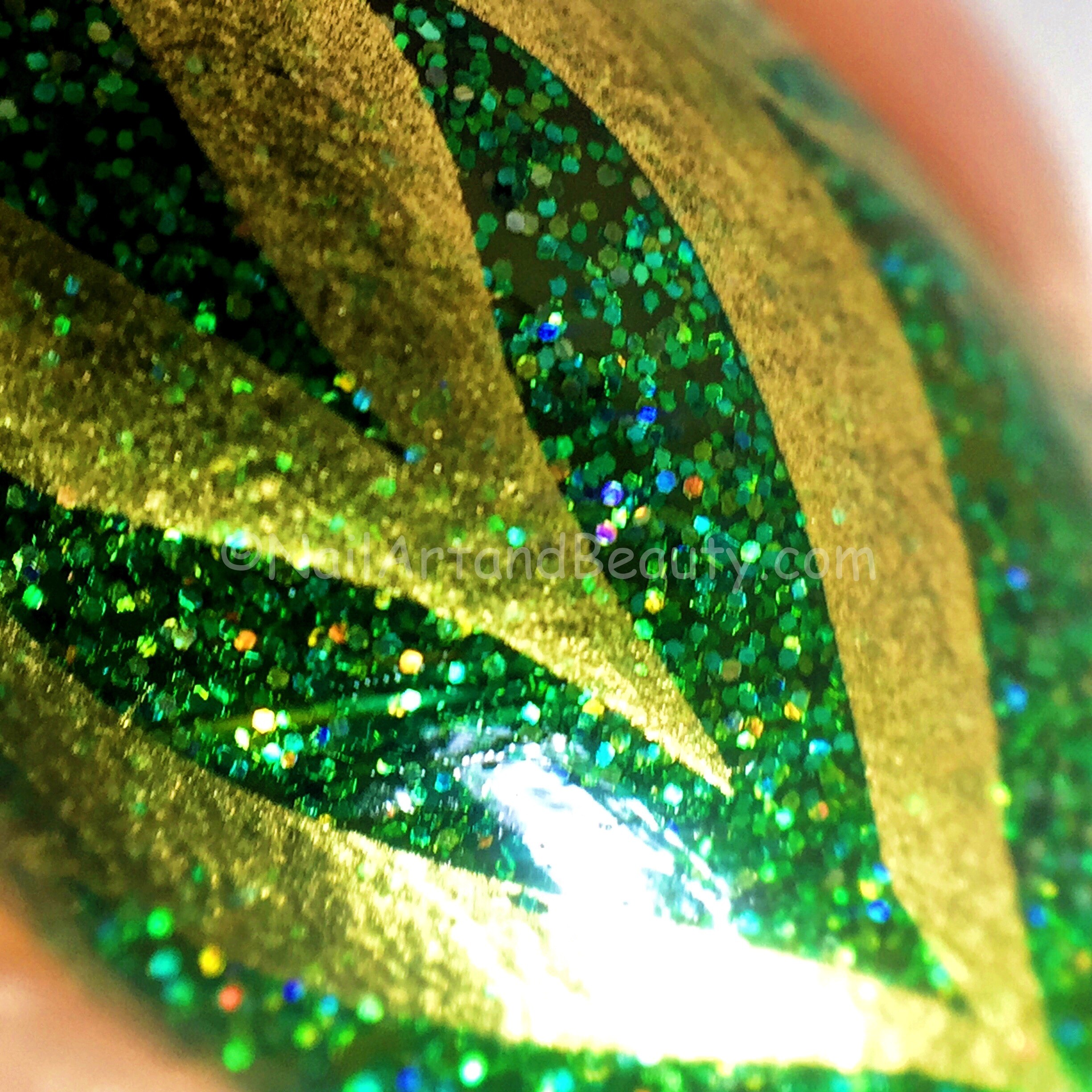 Water Marble Nails Macro