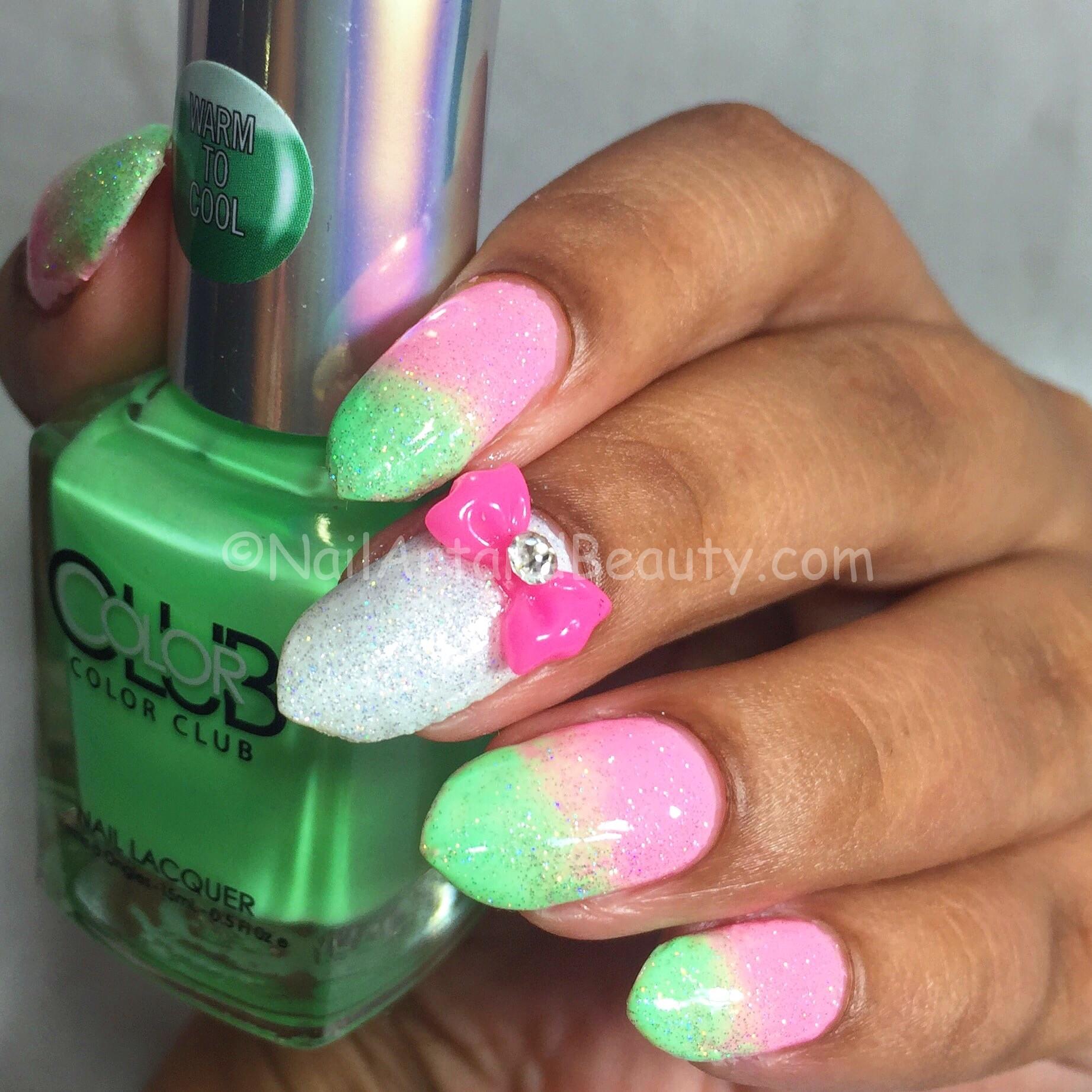 Soft Gradient Nails