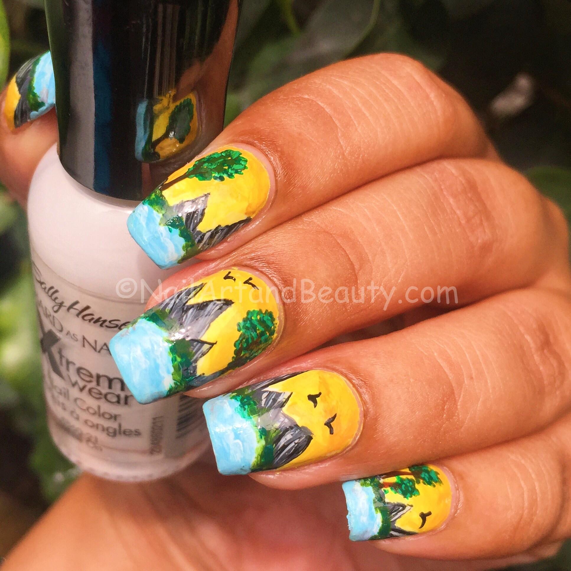 Scenery Nails