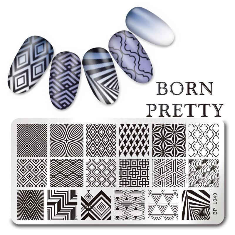 bornpretty-store-diamond-pattern-l040-stamping-plate