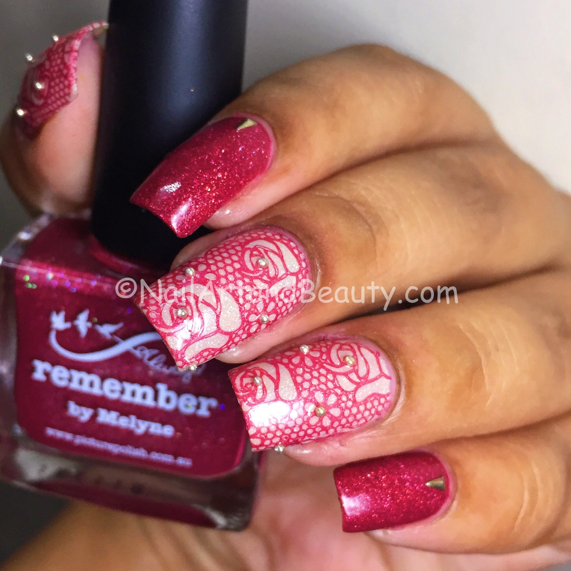 Lace Nails with Picture Polish Merge and Remember