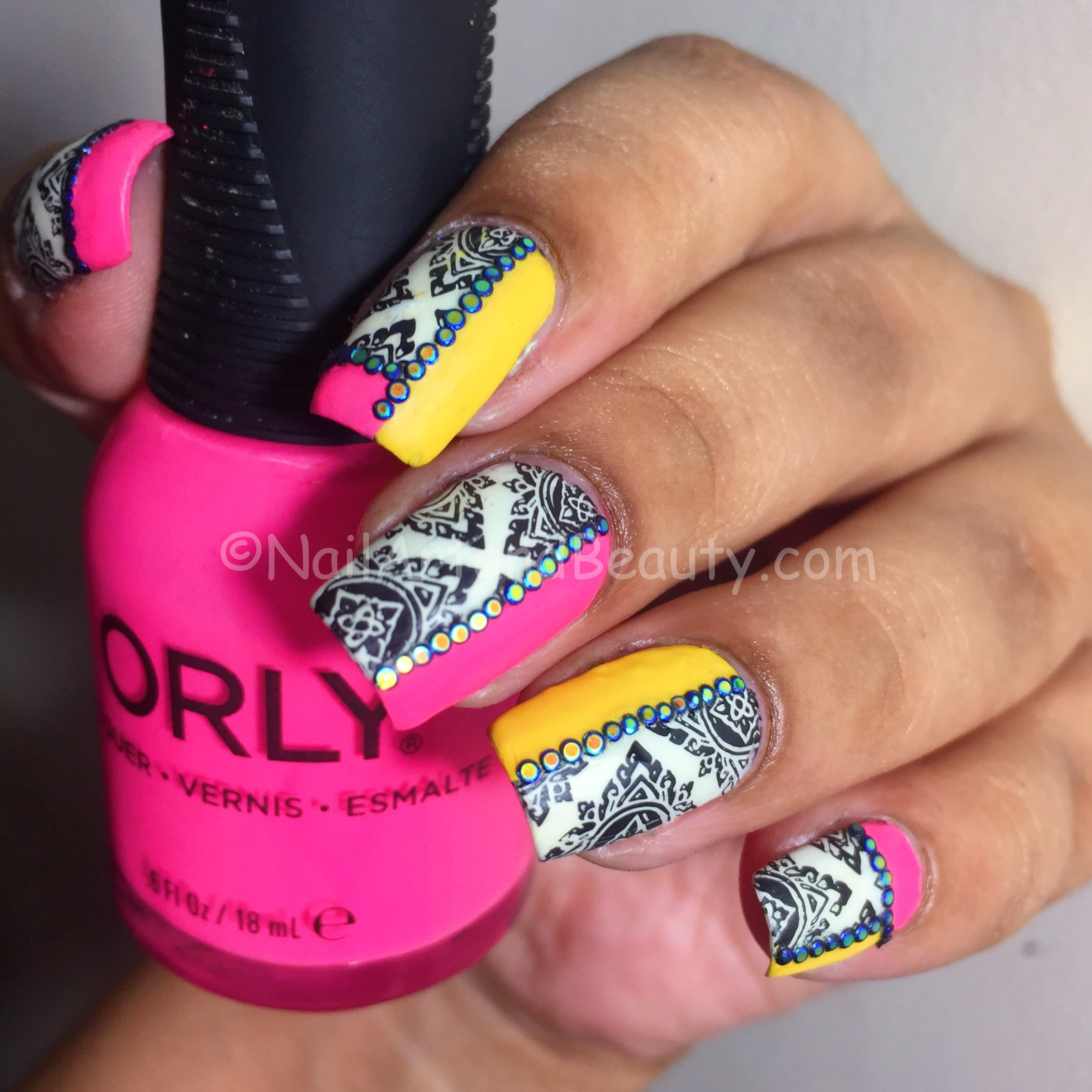 Nails Inspired by WingBack Chair