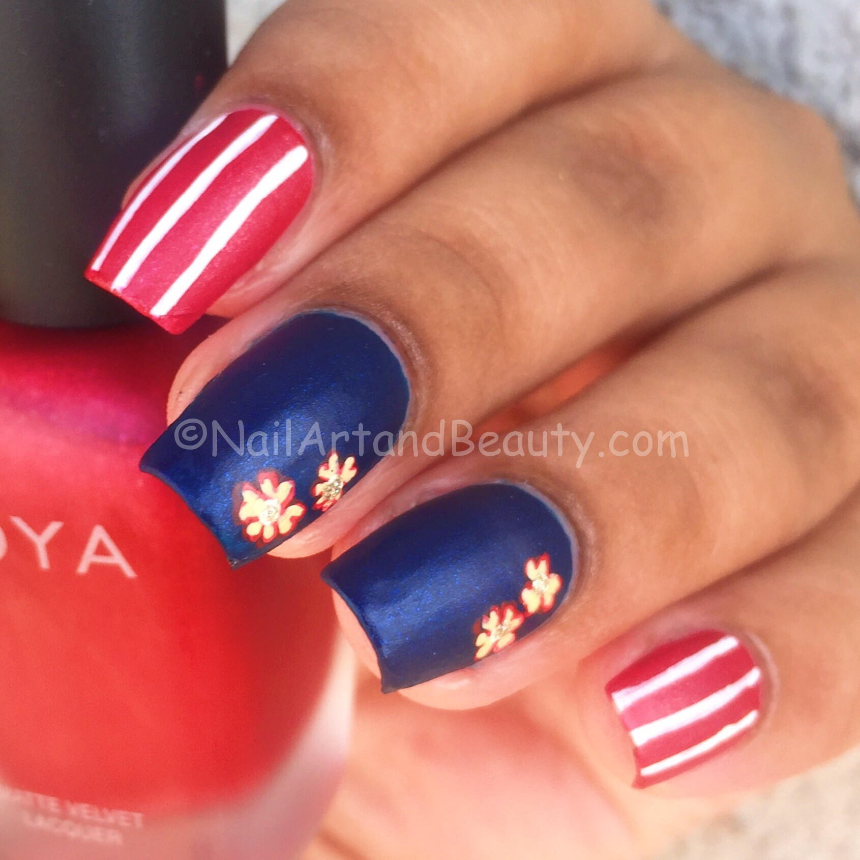 NailArt Inspired by Lakme Fashion Week (By Rara Avis)