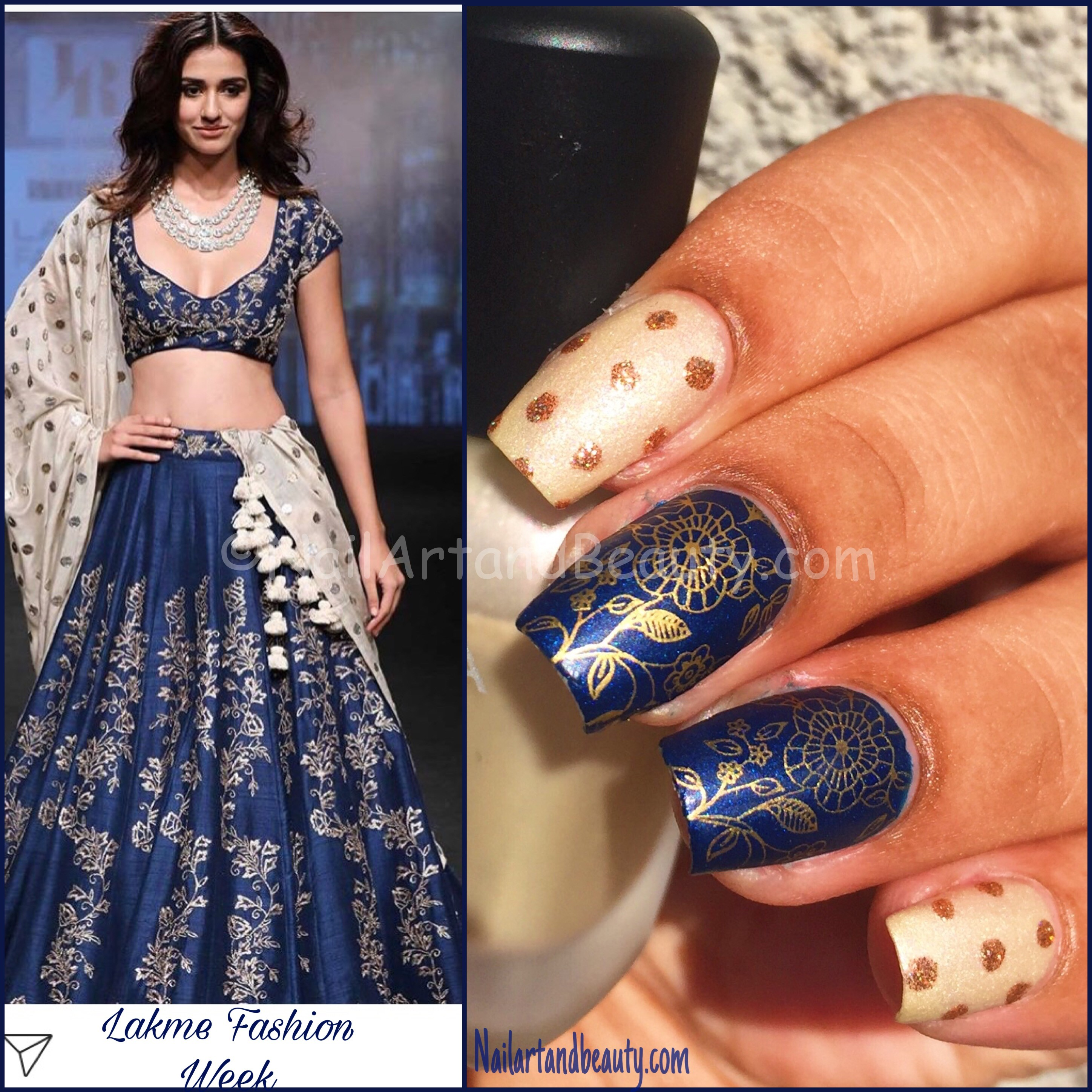 Inspired Nails from Lakme Fashion Week