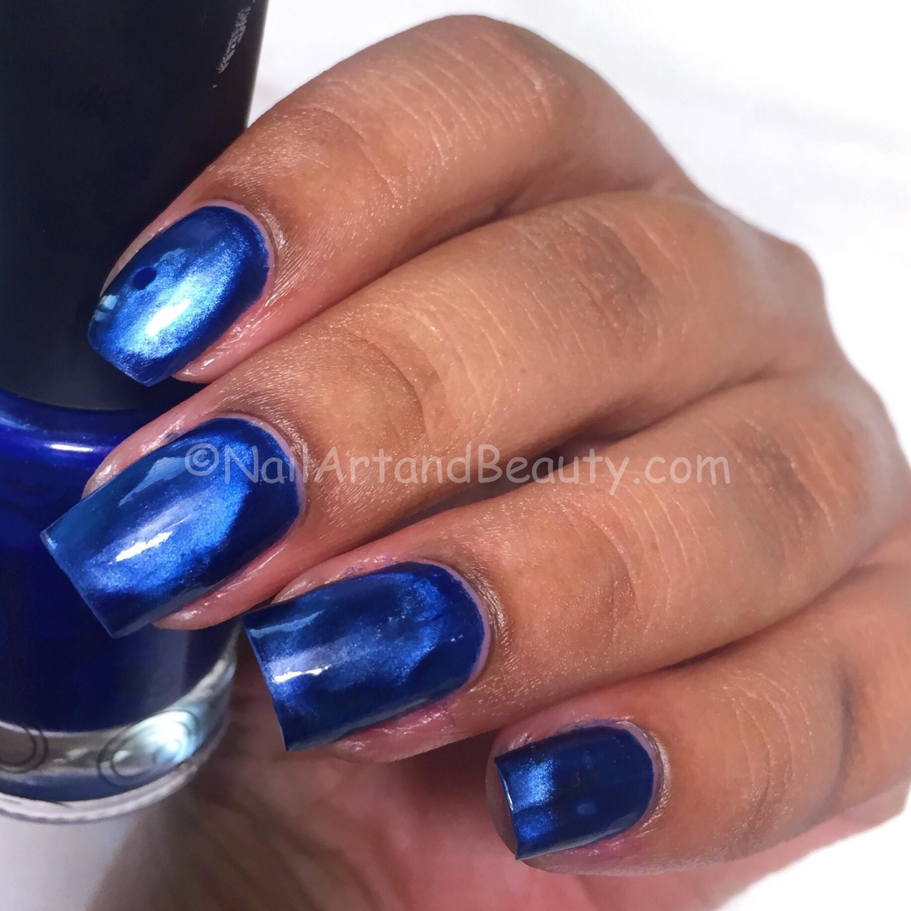 Masura Cobalt Damasse Swatch