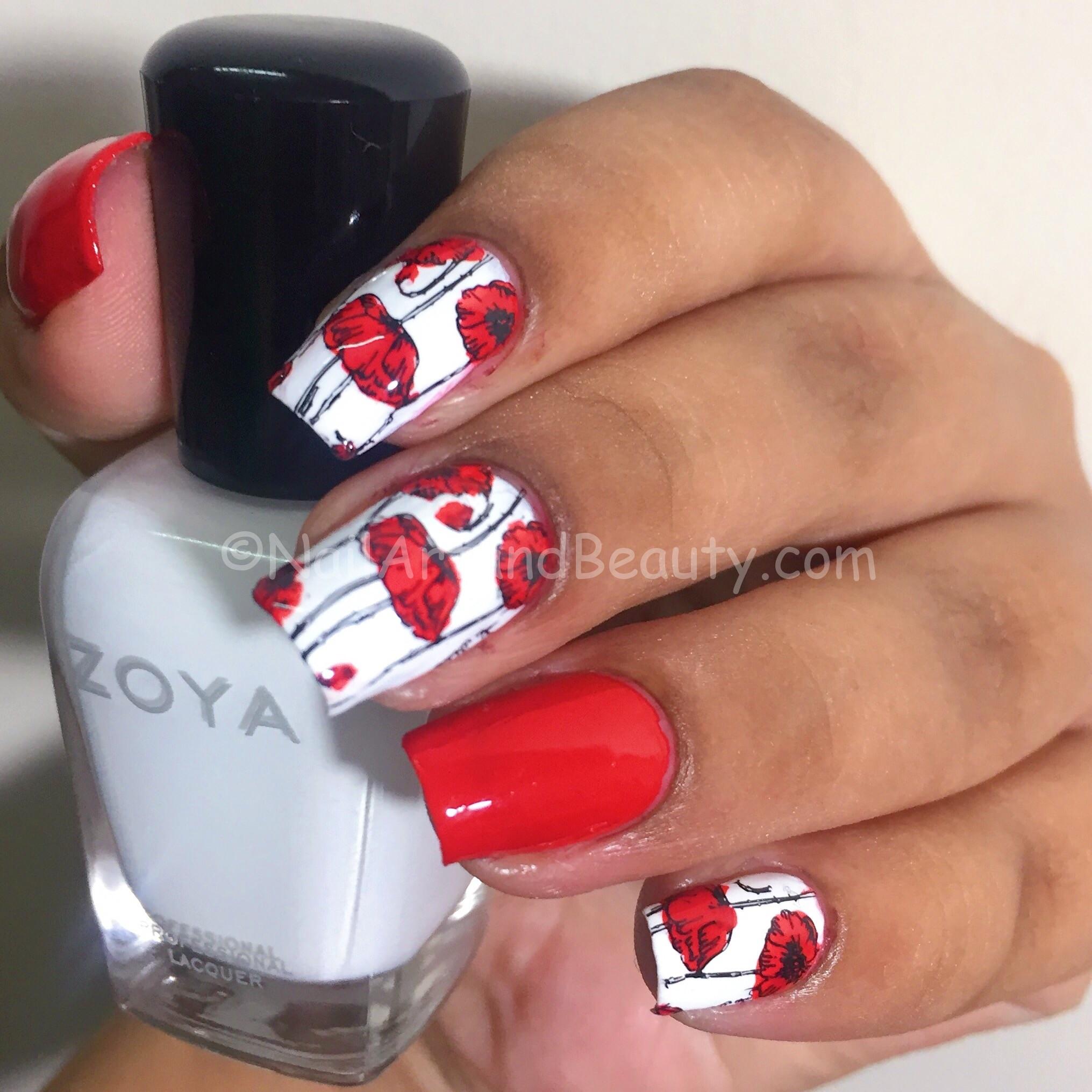 Poppy Nails