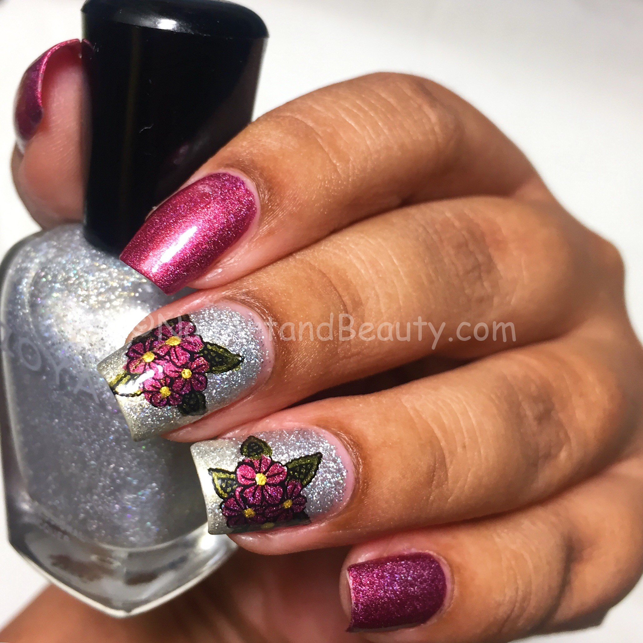 Advanced Stamping Florals with A England Briar Rose