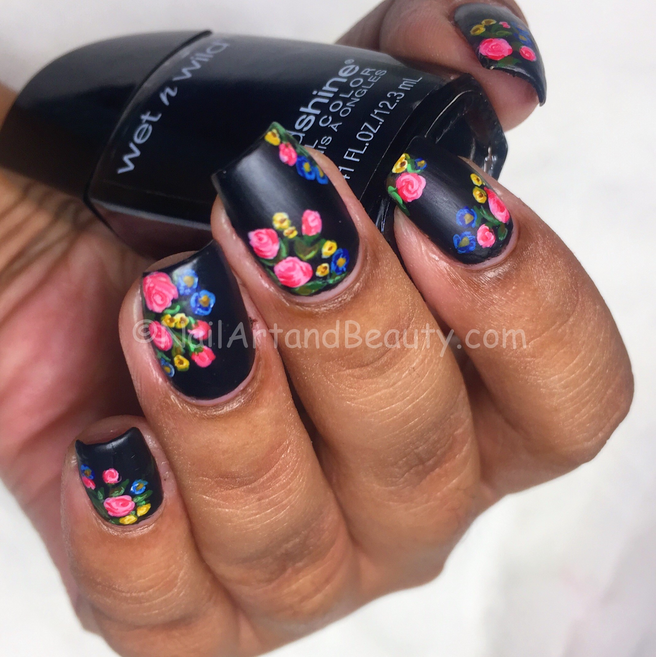 Twin Mani and loads of Roses