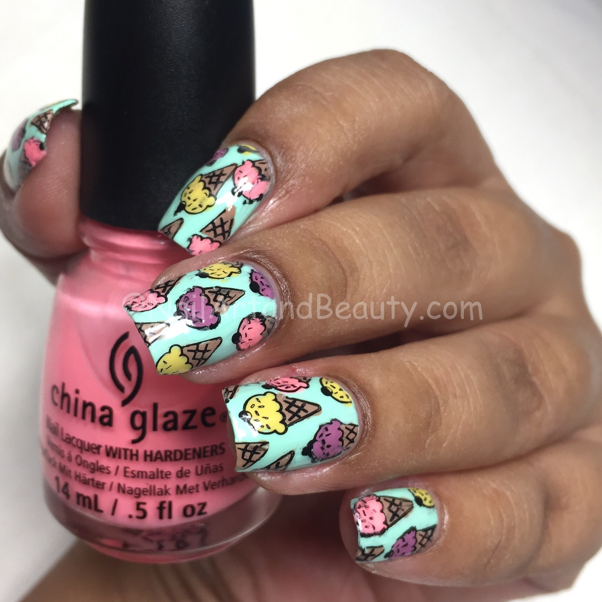 Yummy Ice cream Nails