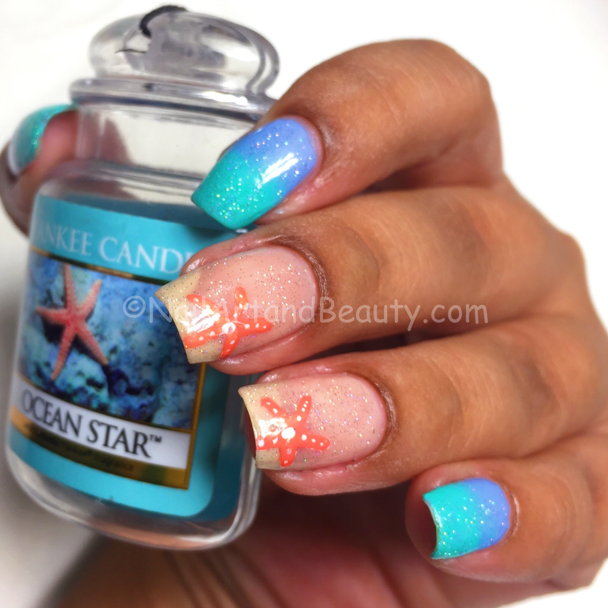 Yankee Candle Inspired Nails