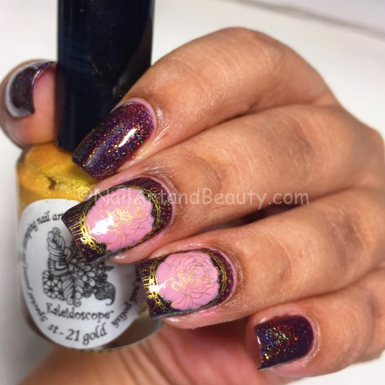 Antique Rose on Fun Lacquer SuperStar