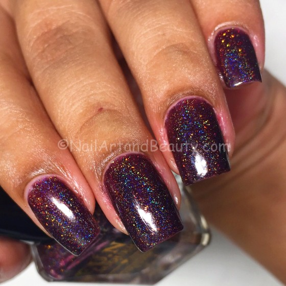 Swatch of Fun Lacquer SuperStar